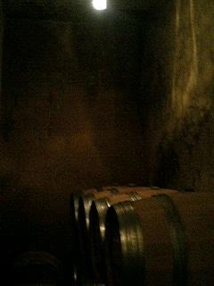 ワイン貯蔵庫