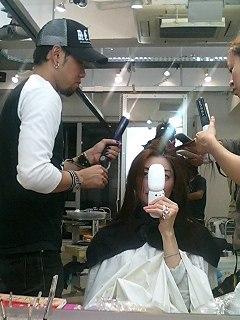 髪のメンテナンス