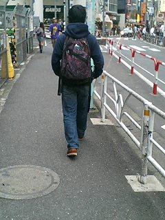 渋谷を歩く